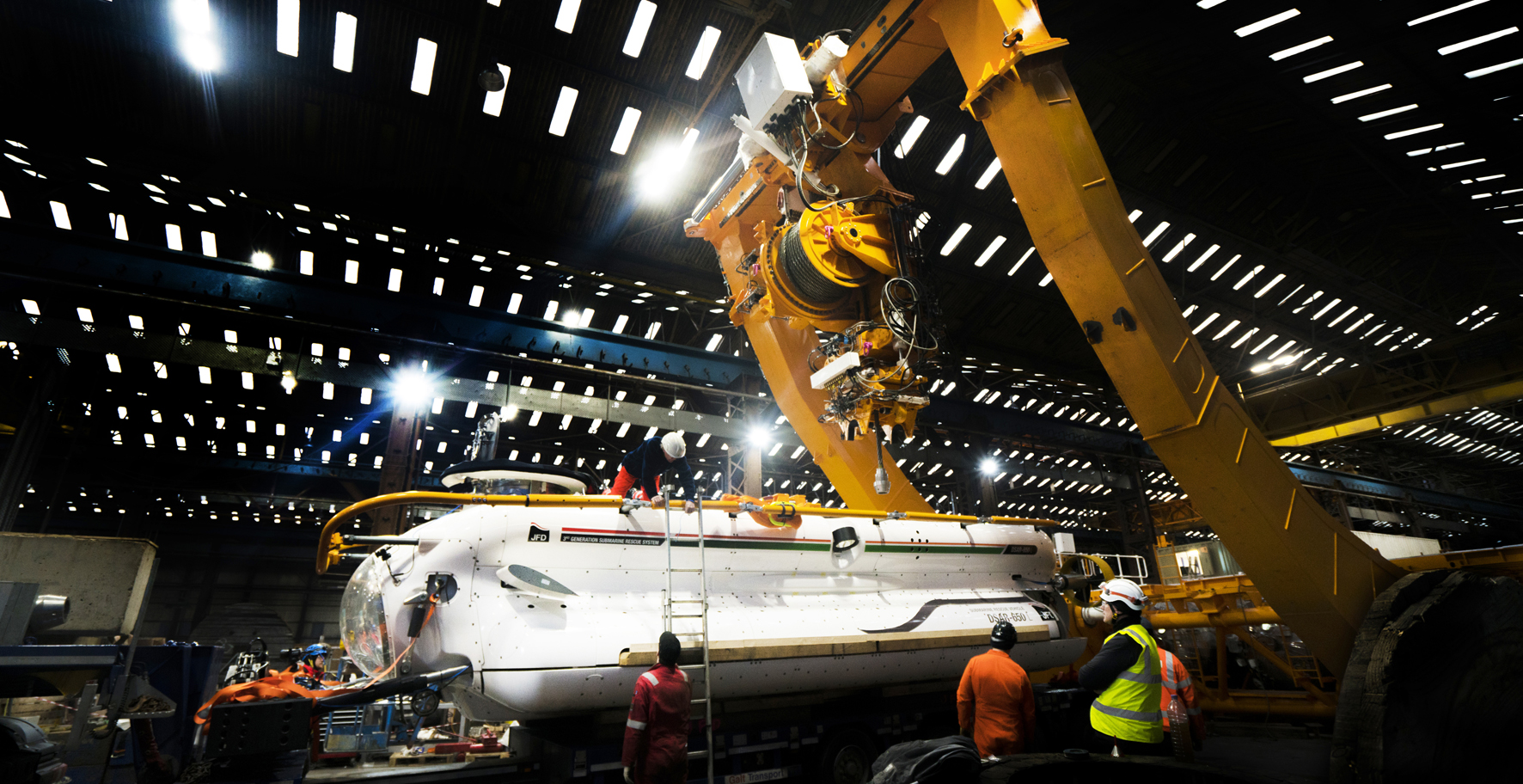 JFD Tests Indian Navy 3rd Generation Submarine Rescue System