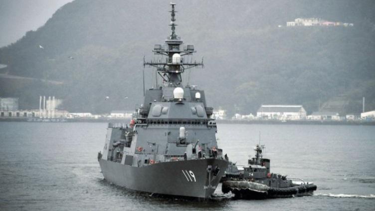 JMSDF 25DD-class Asahi ASW Destroyer