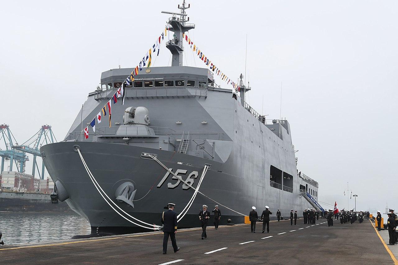 Peruvian Navy BAP Pisco (AMP-156) Landing Platform Dock