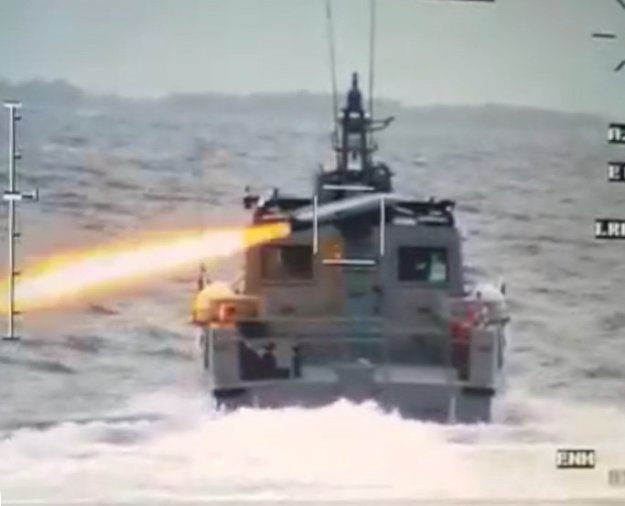 Philippine Navy successfully test fires first missile system