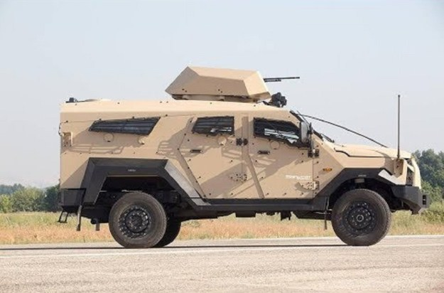 Sandcat Stormer EX Armoured Personnel Carrier