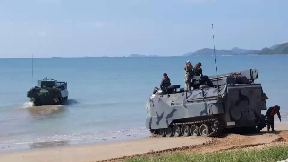 DTI AAPC testing at Royal Thai Marine Corps testing area
