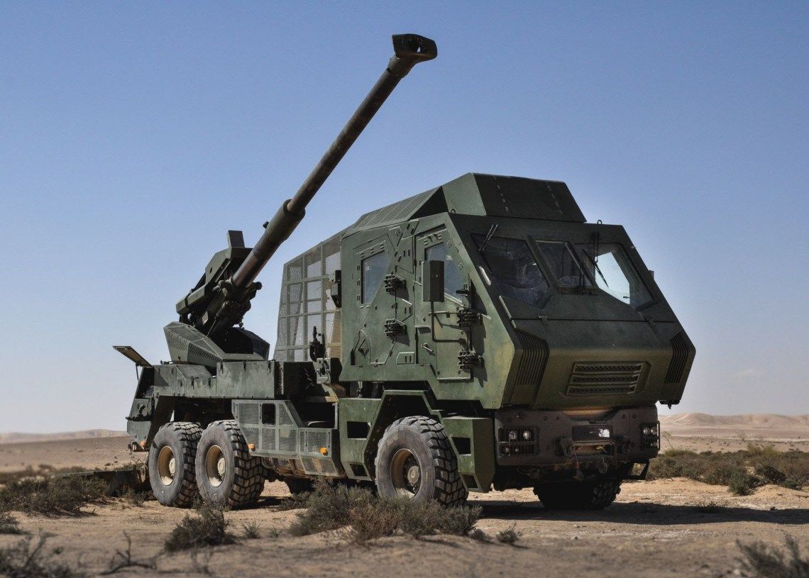 Elbit Systems ATMOS self-propelled howitzer