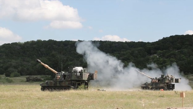 Fire an M109 A6 Paladin in the National Guard