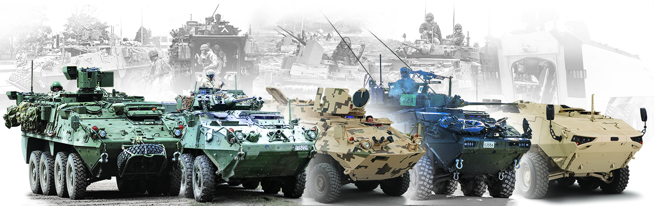 General Dynamics Land Systems - Light Armoured Vehicles (LAVs)