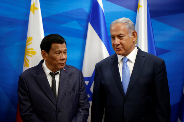 Israel, Philippines sign defence industry deals