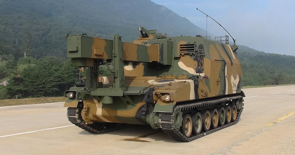 Hanwha Defense K56 Ammunition Resupply Vehicle