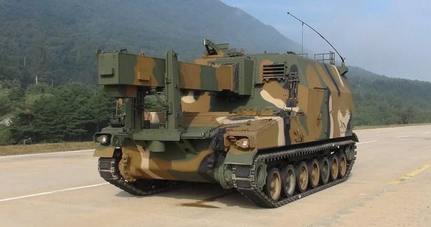 K56 Ammunition Resupply Vehicle