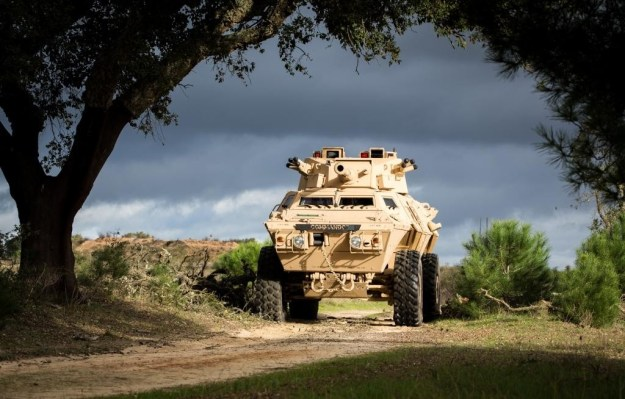 M1117 Armored Security Vehicle (ASV)