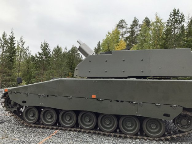 Sweden receives Grkpbv 90 self-propelled mortars