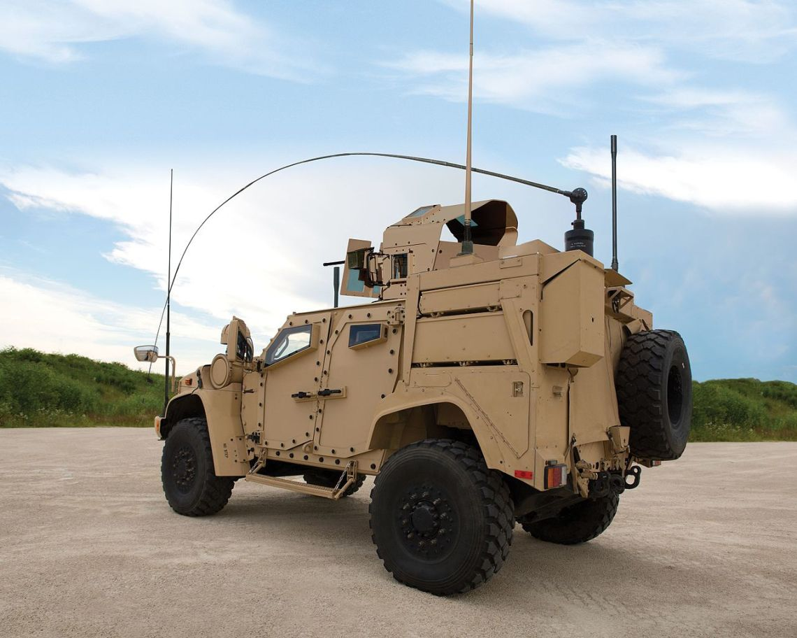 Oshkosh Joint Light Tactical Vehicle (JLTV)
