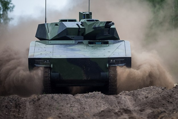 Rheinmetall displays its Lynx KF41 infantry fighting vehicle (IFV)