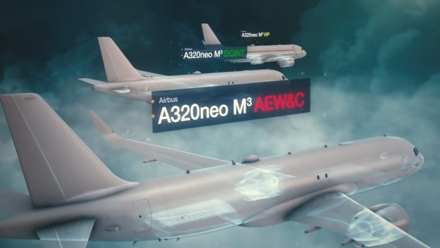 Airbus A320neo M3A Modular Multi-Mission Aircraft