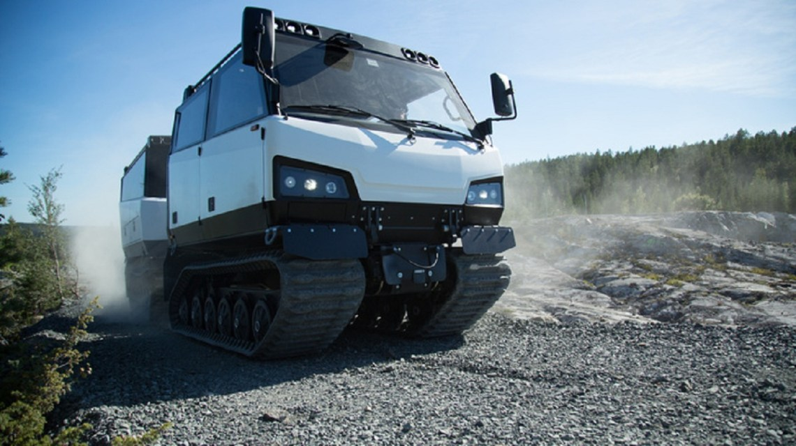 BAE Systems BvS10 Beowulf all-terrain tracked vehicle
