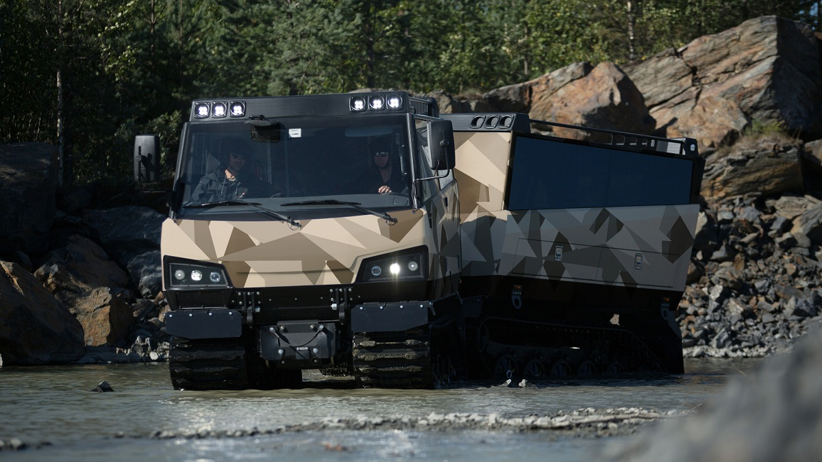 BvS10 Beowulf All-terrain Tracked Vehicle