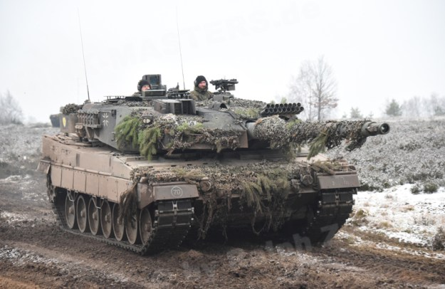 Canadian Army Leopard 2A6M