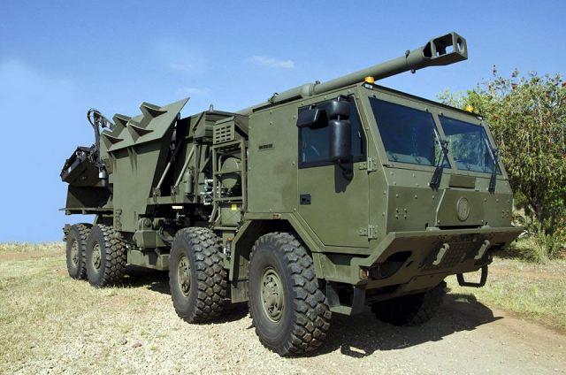 Denel T5 52 Truck-Mounted Gun System