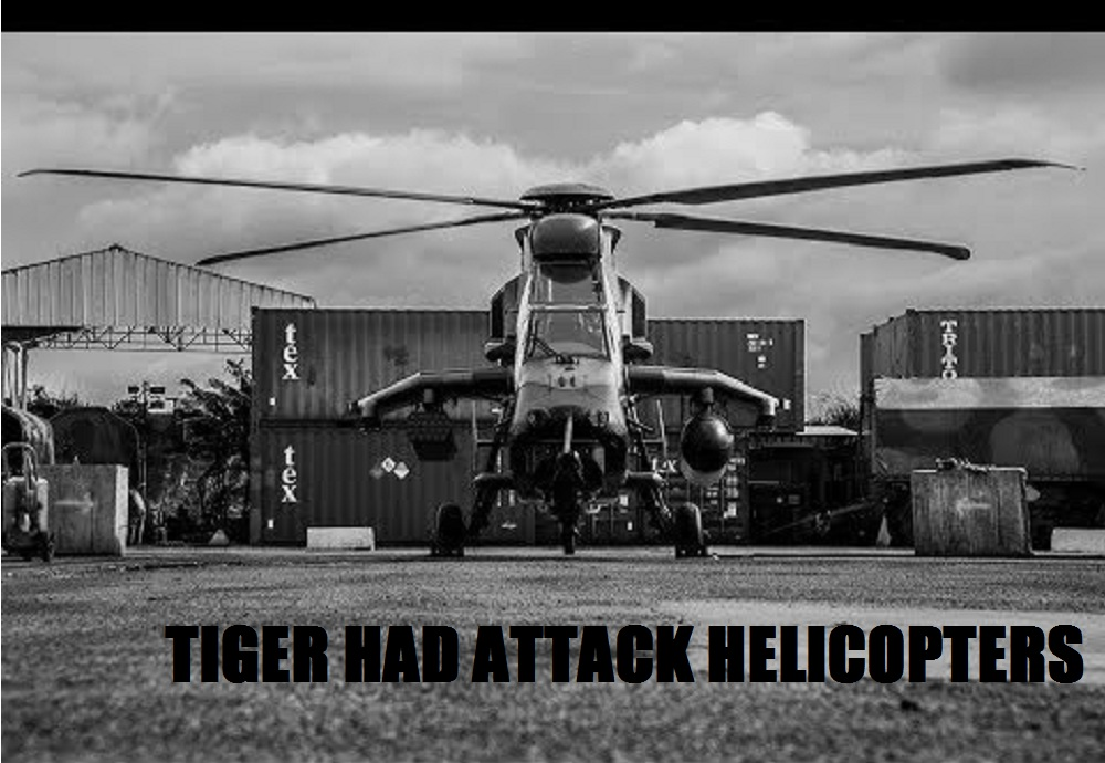 French Army Tiger HAD Attack Helicopter