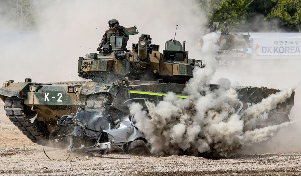 K2 Tank Maneuverability Capability