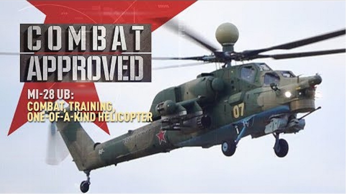 Mi-28UB Combat Training Helicopter with Dual Control System