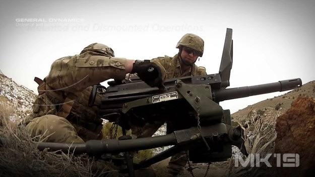 MK19 Mod 3 40mm Advanced Grenade Launcher