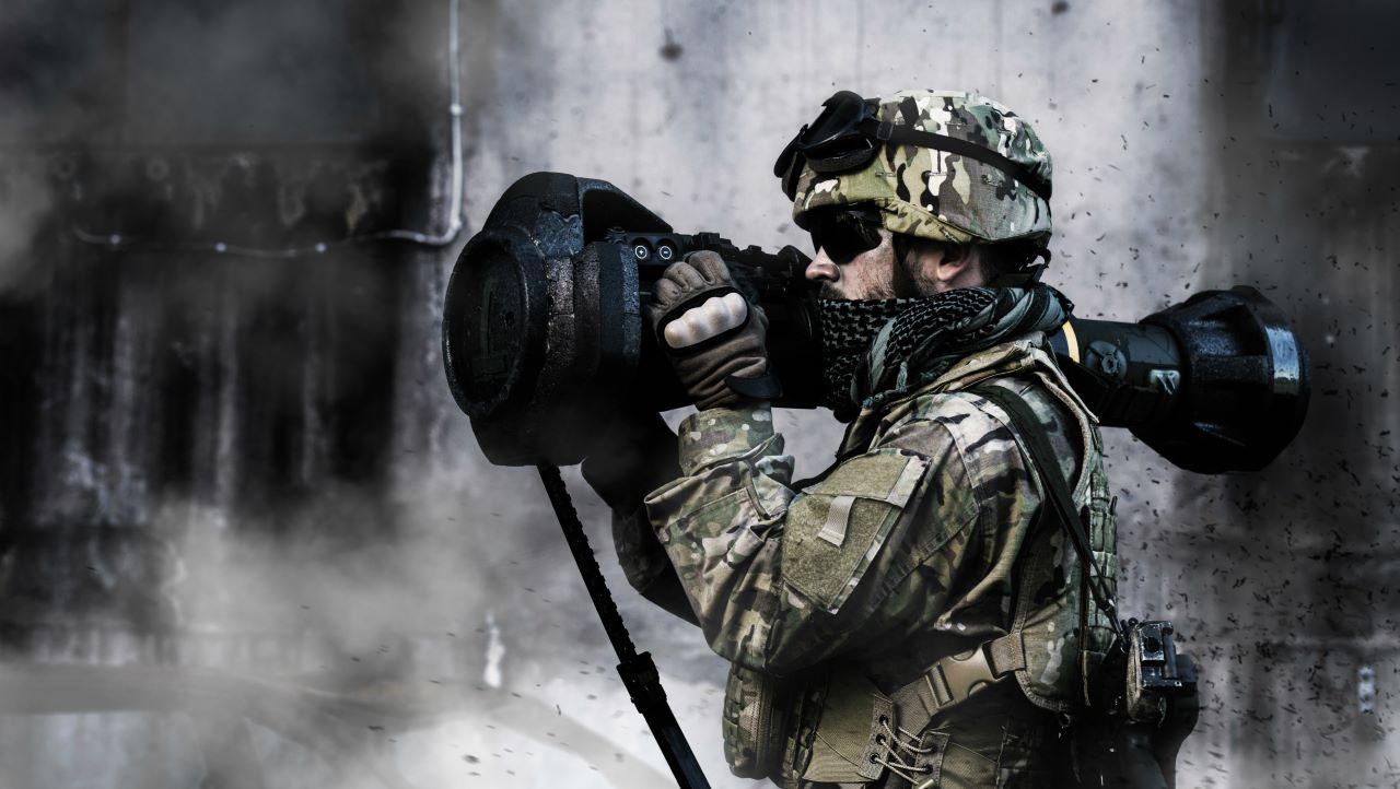 NLAW Anti-Tank Missile Launcher