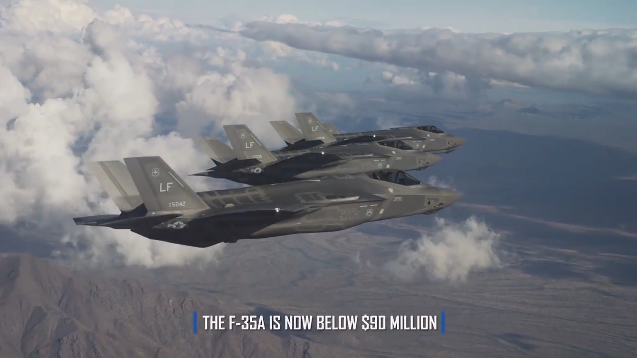 Pentagon and Lockheed Martin Agree To Reduced F-35 Price in New Production Contract