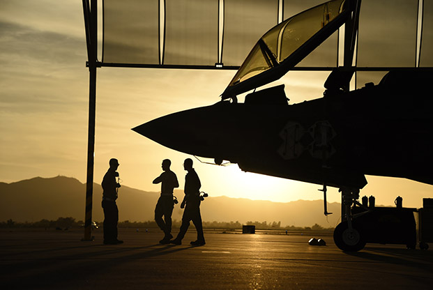 Pentagon grounds F-35 stealth fighters after first crash