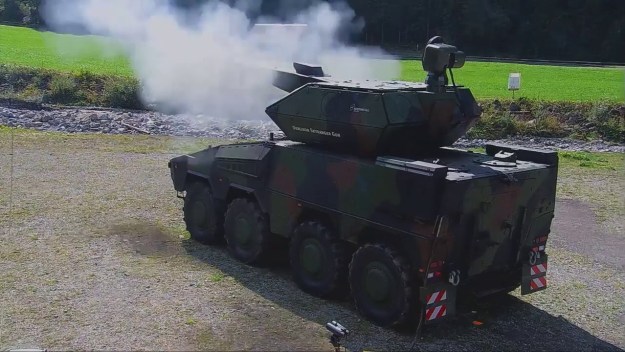 Rheinmetall Oerlikon Skyranger Boxer
