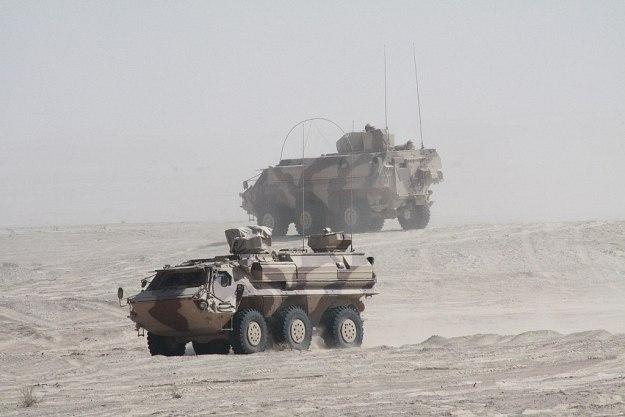 TPz Fuchs 6x6 Wheeled Armoured Vehicle