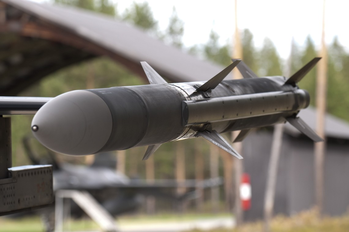 AIM-120 AMRAAM Medium-Range Air-to-Air Missile
