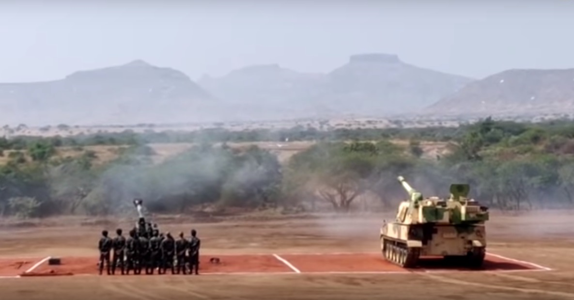 Indian Army inducts K9 Vajra and M777 artillery systems