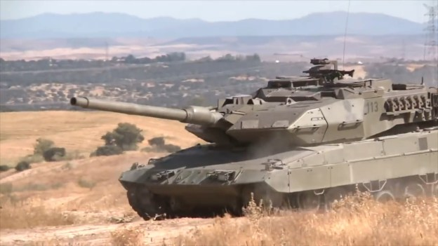 Spanish Army Leopard 2E