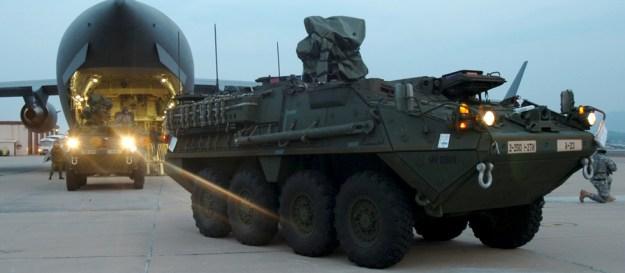 Stryker Combat Vehicles