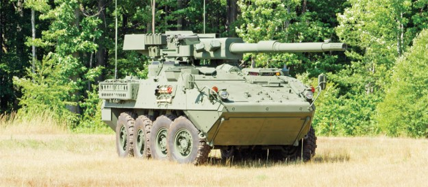 The Stryker Mobile Gun System (MGS)