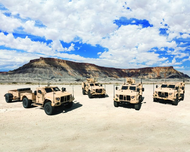 U.S. Army places $1.69 billion order for six thousand Oshkosh JLTV vehicles