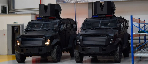 Alan Armored Wheeled Vehicles (AWV)