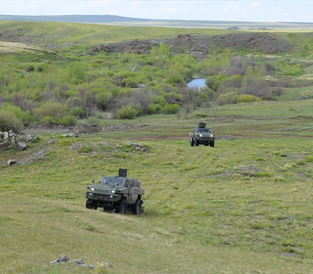 Arlan Armored Wheeled Vehicles