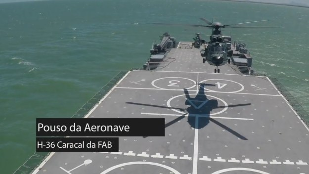 Brazilian Navy participates in Operation Atlantic V