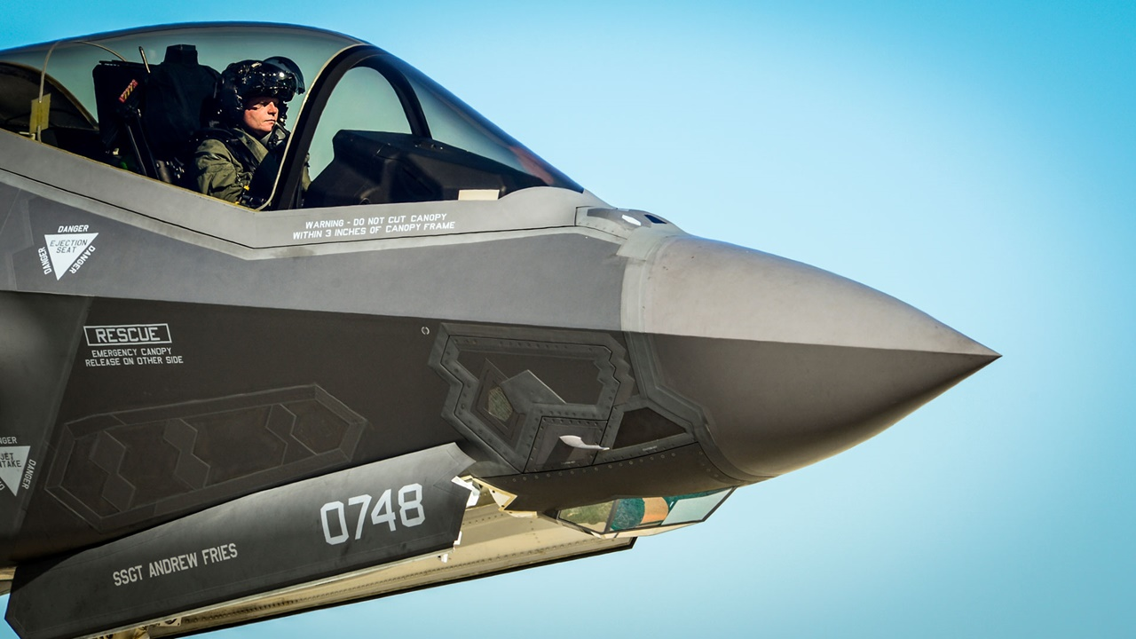 F-35 Gen III Helmet Mounted Display System (HMDS)