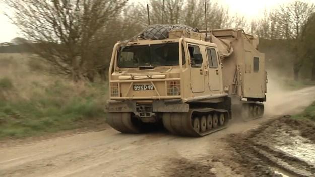 Mobile Artillery Monitoring Battlefield Radar (MAMBA)