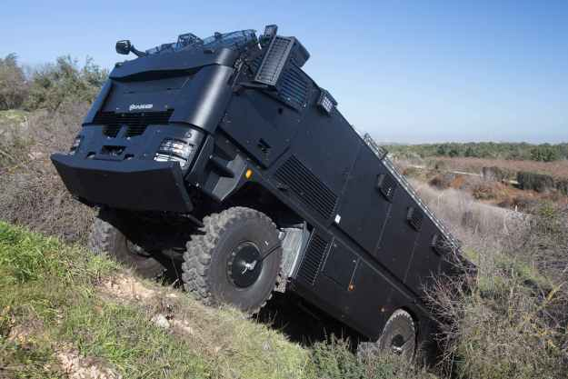 Plasan Guarder Armoured Vehicle