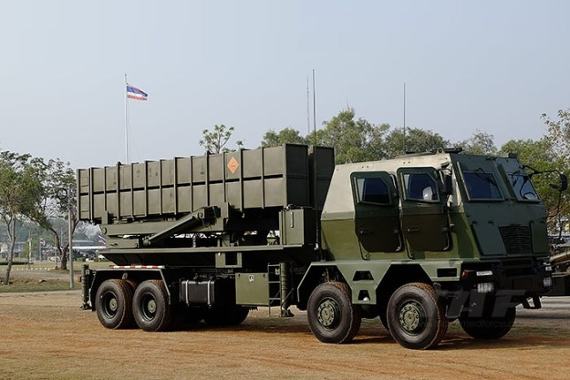 Royal Thai Army DTI-1G Multiple Rocket Launcher
