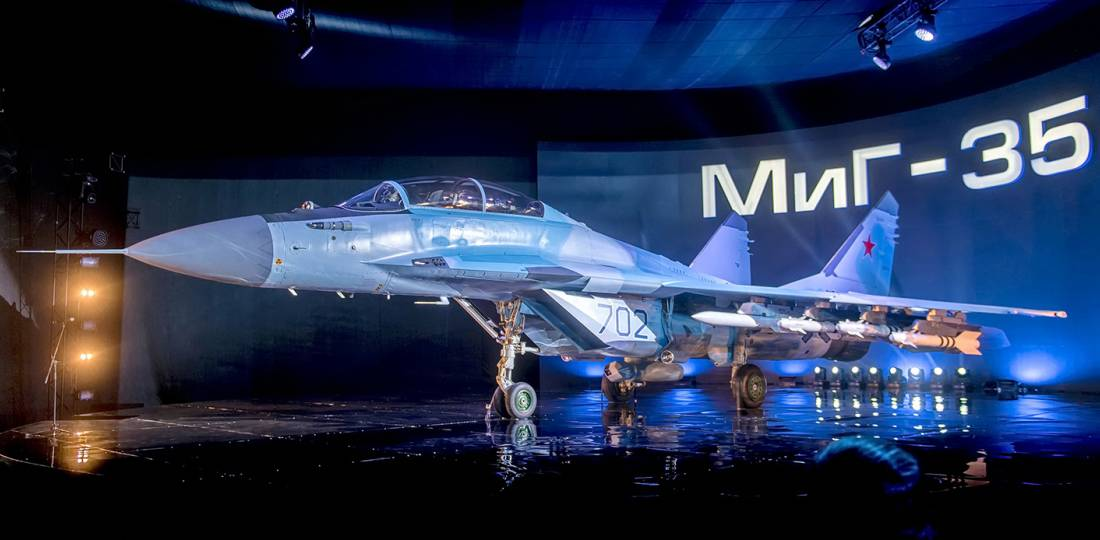 RSK MiG completes manufacture of first batch MiG-35 MCA fighters