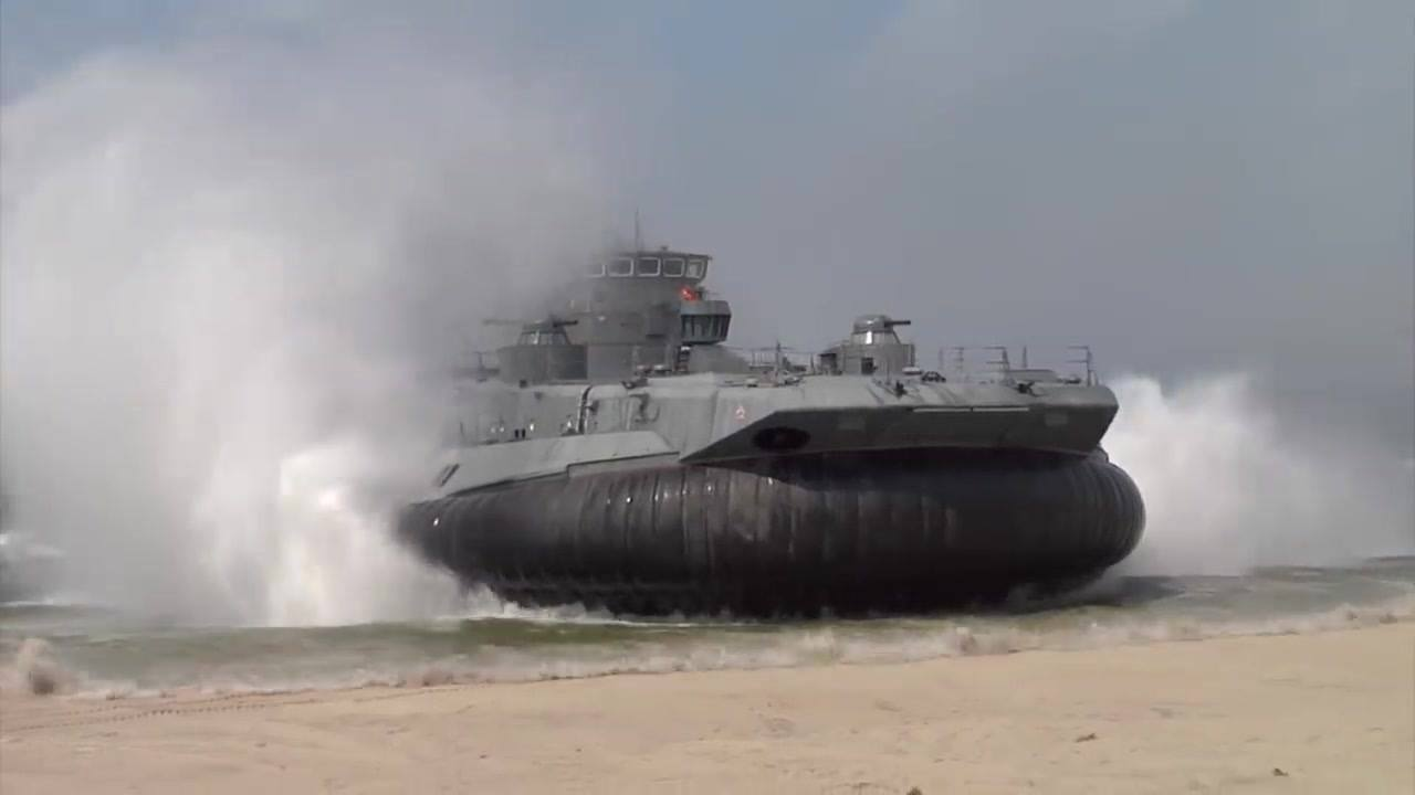 Russia celebrates Naval Infantry Day