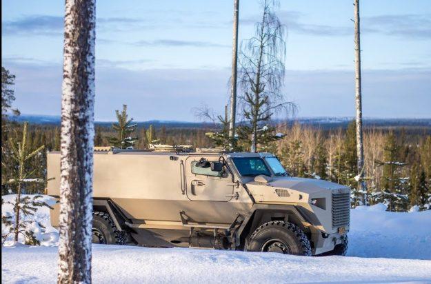 Sisu GTP Armoured Vehicle