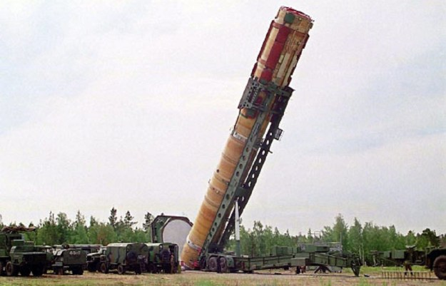 Russian Strategic Missile Forces R36M2 Voivode