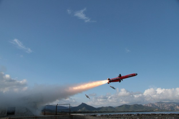Successful First Launch for MBDA Marte ER Missile