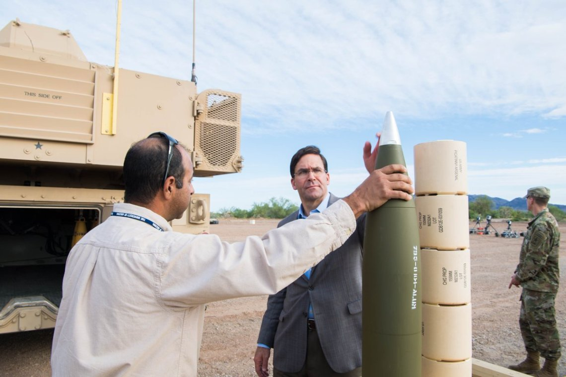 U.S. Army tests Extended Range Cannon Artillery (ERCA) at Yuma Proving Ground