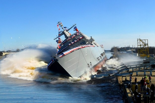 U.S. Navy to christen USS St. Louis (LCS-19)
